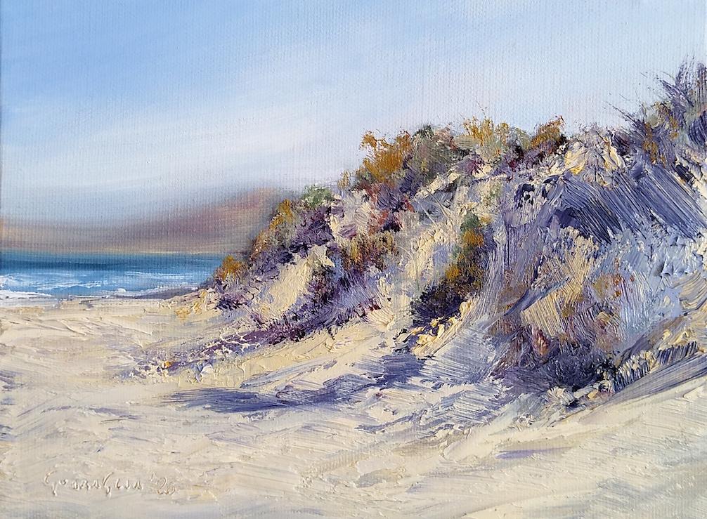 Studio sulle dune 2 – Platamona, Terzo pettine – Olio su tela copia